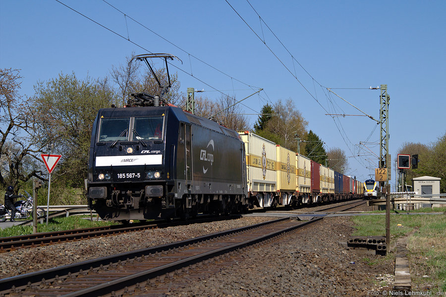 CFL 185 567 bei Benhausen