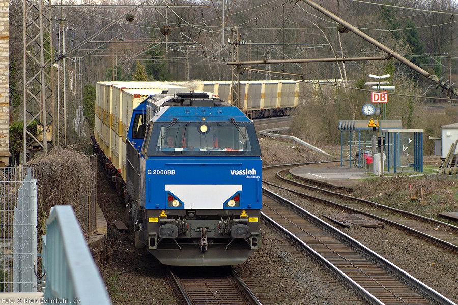 Vossloh G2000 in Paderborn
