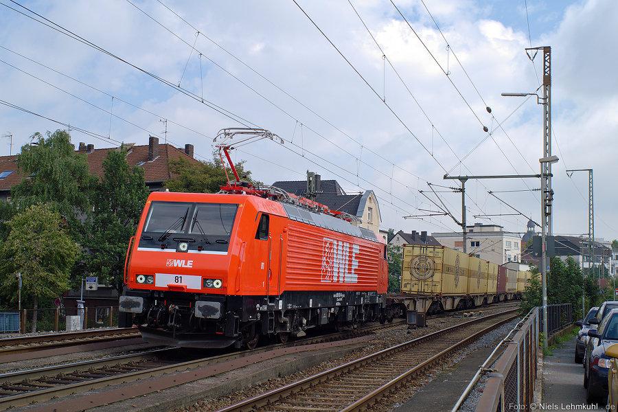 WLE 81 (189 801) in Paderborn