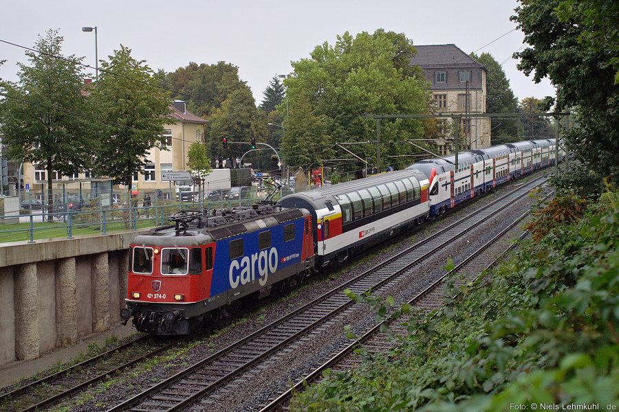 SBB 421 374 in Paderborn