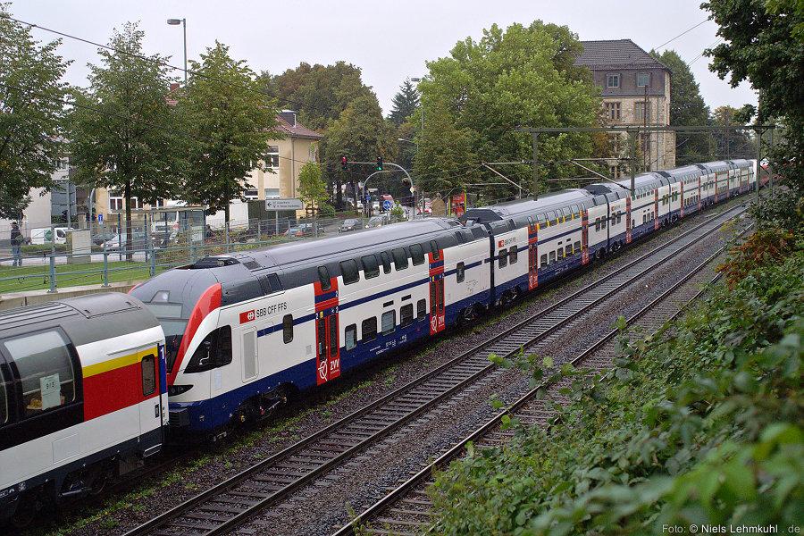 SBB DOSTO S-Bahn 511 001 in Paderborn