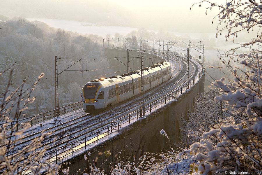 Eurobahn ET5.04 auf dem Altenbekener Viadukt