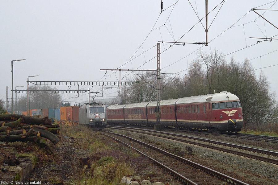 TXL 185 538 und VT08 in Buke