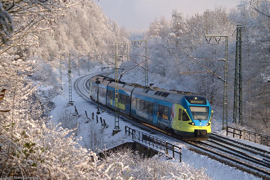 Westfalenbahn ET 005 in Altenbeken