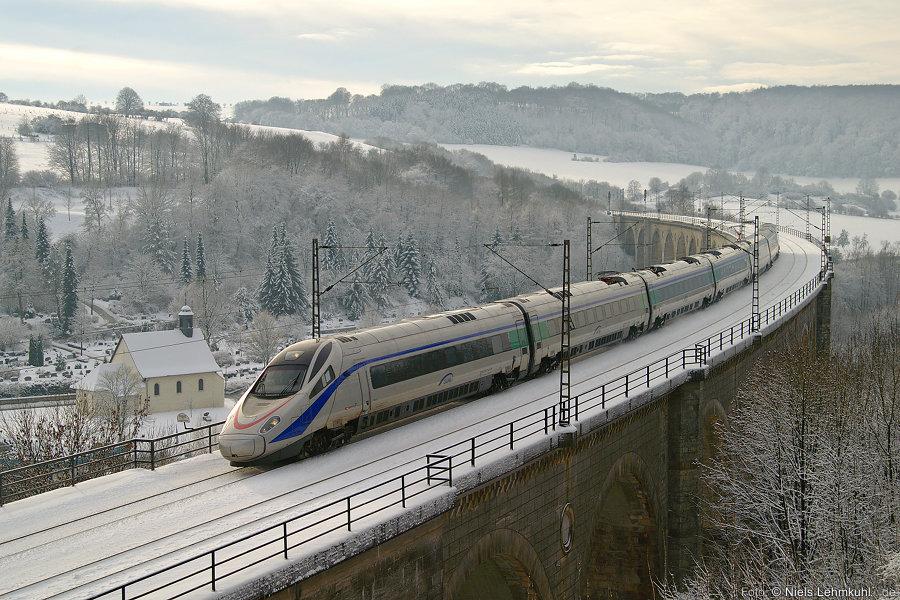 SBB ETR 610 auf dem Altenbekener Viadukt