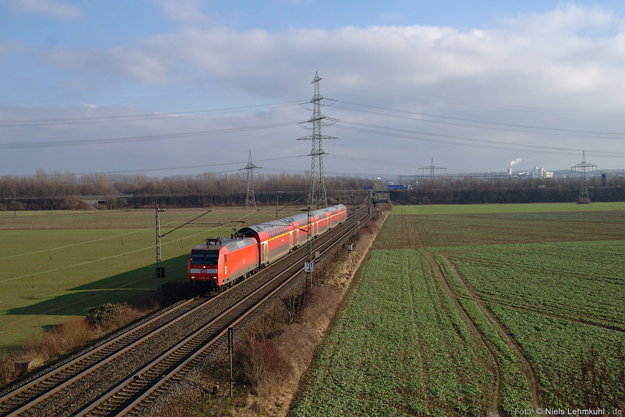 146 022 mit RE 10158 bei Elsen