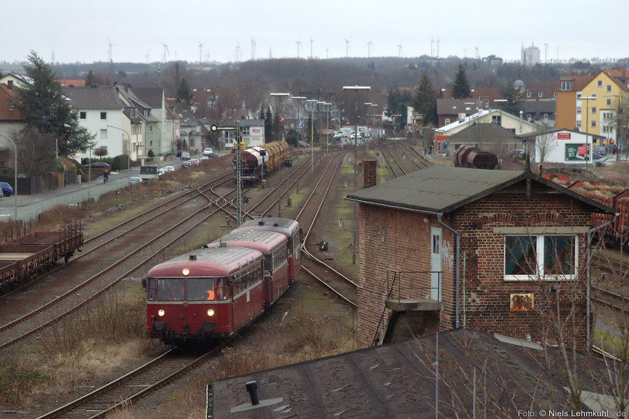 796 690 + 996 299 + 796 802 ausfahrend Paderborn Nord in Richtung Marienloh