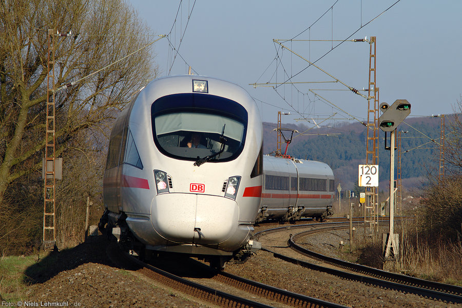 ICE-T 411 025 bei Benhausen