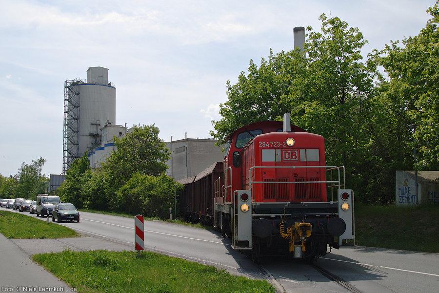 294 723 im Zementwerk Milke in Geseke