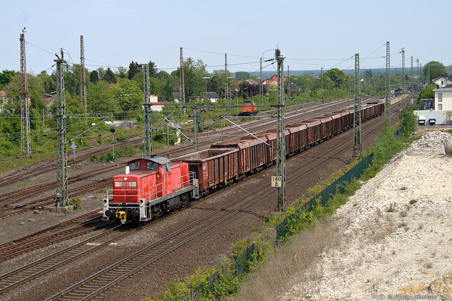 294 723 im Bahnhof Geseke