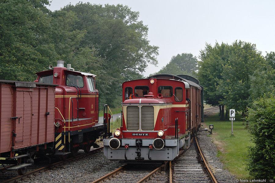 MEH 52 und V60 615 in Lippborg-Heintrop