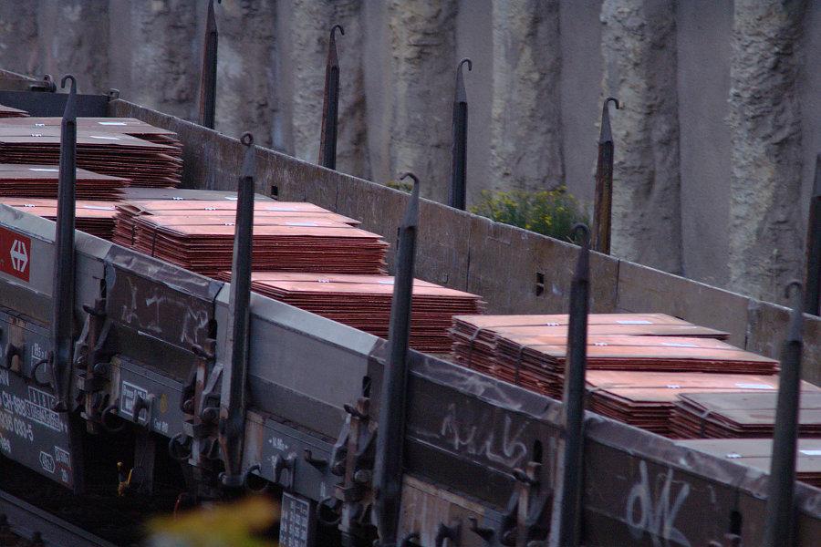 Das Ladegut: Kupferkathoden