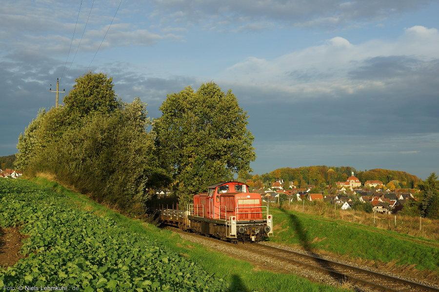 294 724 mit Übergabe bei Holzhausen.