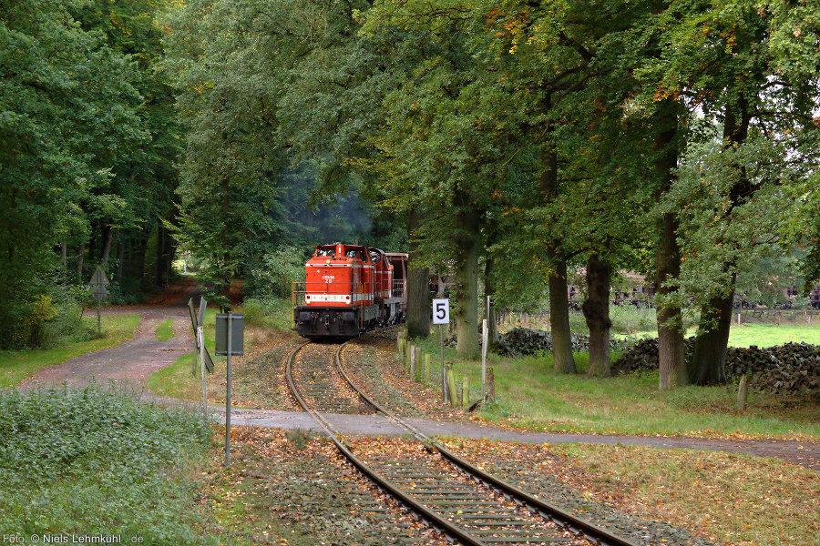 RVM 28 und RVM 61 mit Leer-Kieszug bei Wersen