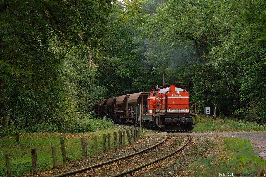 RVM 61 und 28 mit Kieszug aus Osnabrück bei Wersen.