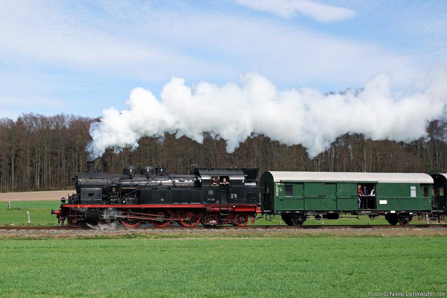 78 468 auf der Tecklenburger Nordbahn bei Westerkappeln.