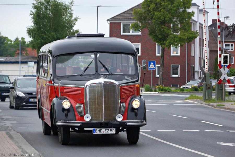 Mercedes Benz Bus vom Typ O 3500. (Emden)