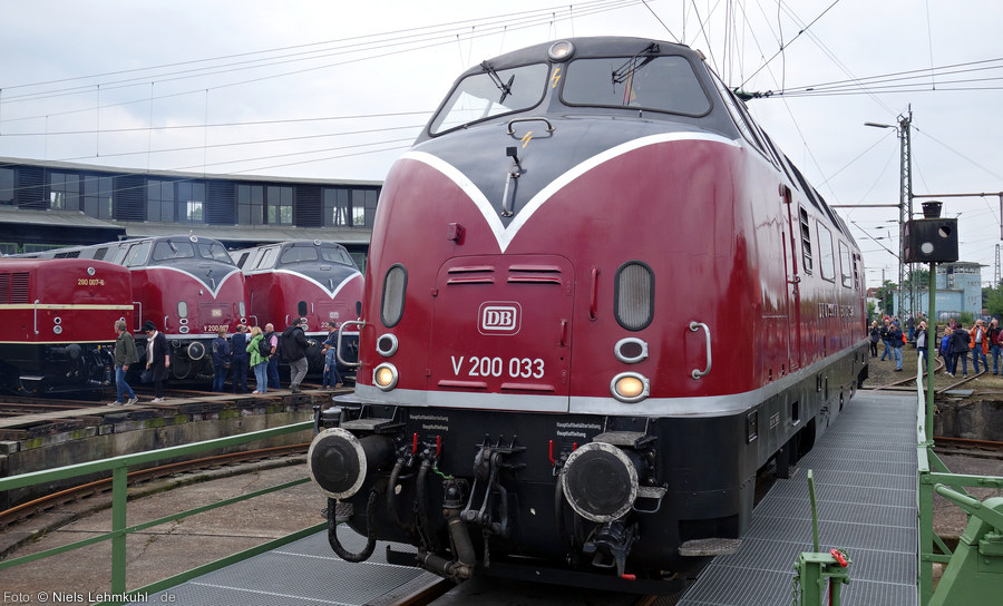 MEH V200 033 in Altenbeken