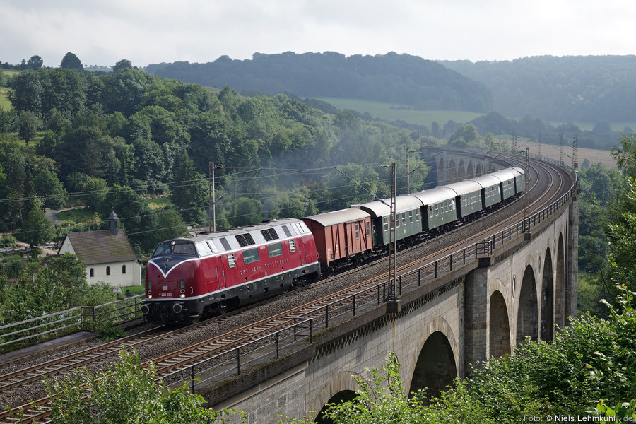 MEH V200 033 auf dem Altenbekener Viadukt