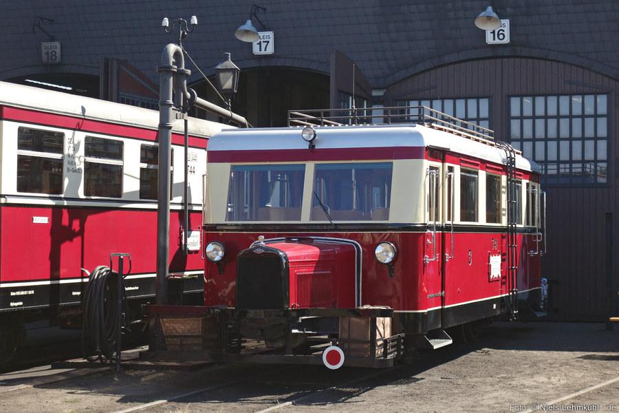 DEV T41 in Bruchhausen-Vilsen vor dem Bahnbetriebswerk. (2018-08-04)