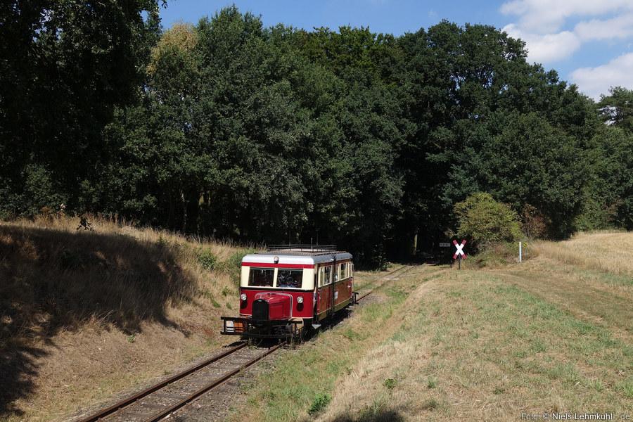 DEV T41 am Haltepunkt Vilser Holz. (2018-08-04)