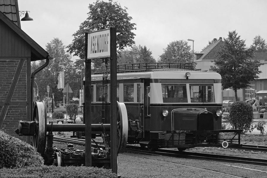 DEV T41 im Endbahnhof Asendorf. (2019-10-03)
