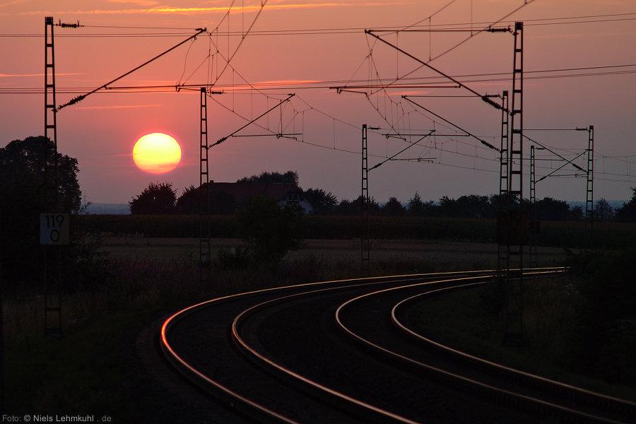 Sonnenuntergang Benhausen